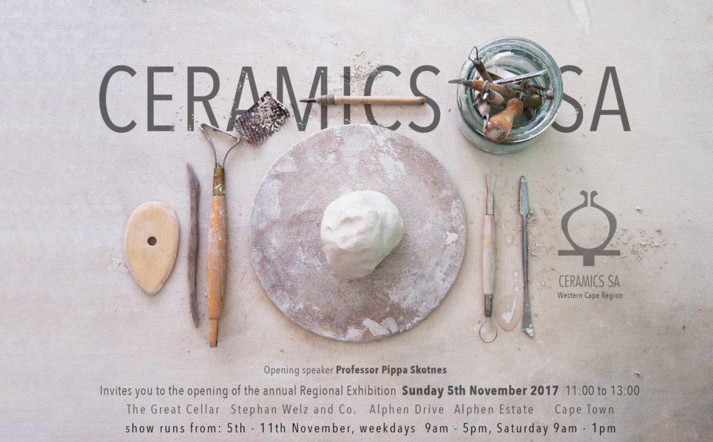 Ceramics SA invite