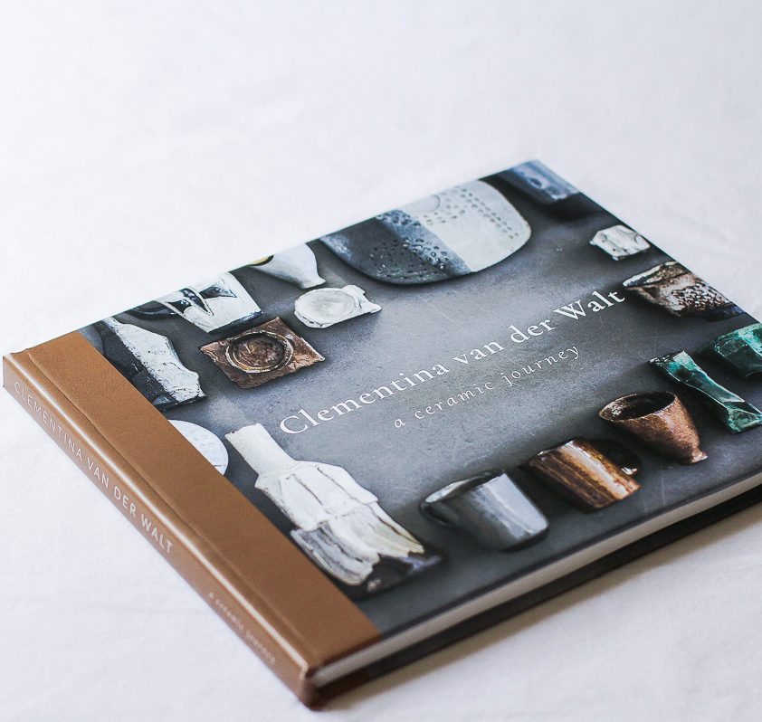 Coffee Table Book of Ceramic Artist Clementina van der Walt