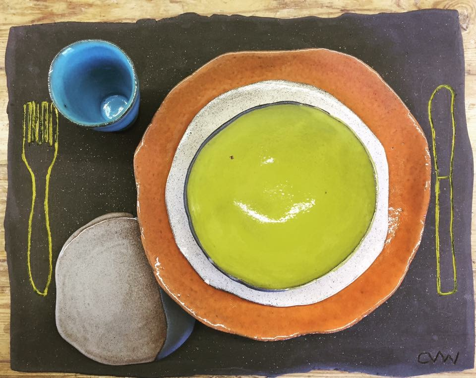 Clementina Ceramics Table Setting