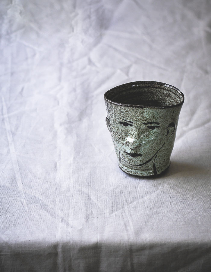 Mint Green Face Cup
