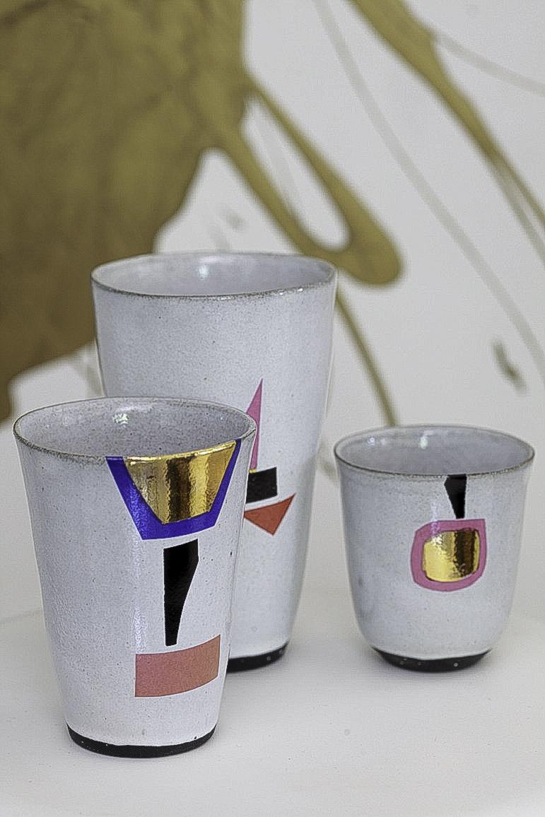 Clementina Ceramics Afro Deco
