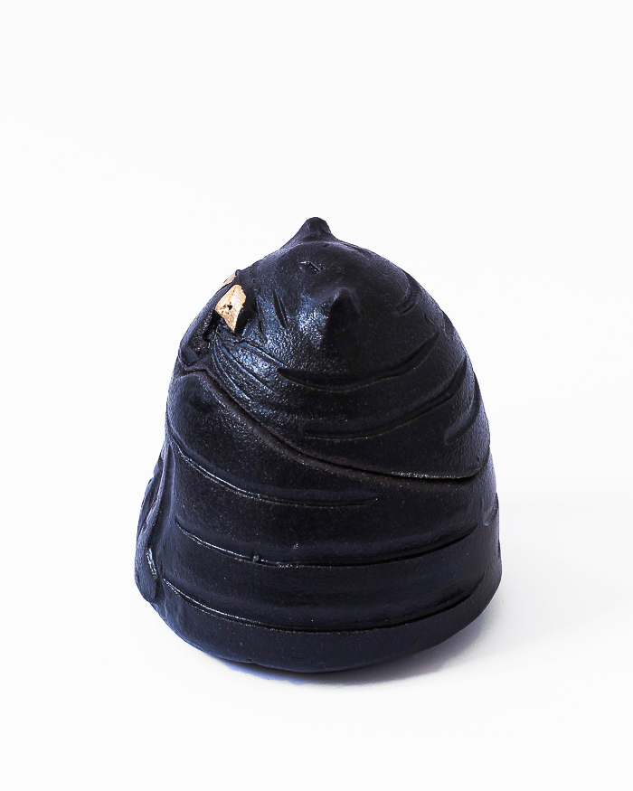 Black Cat Jar Left View