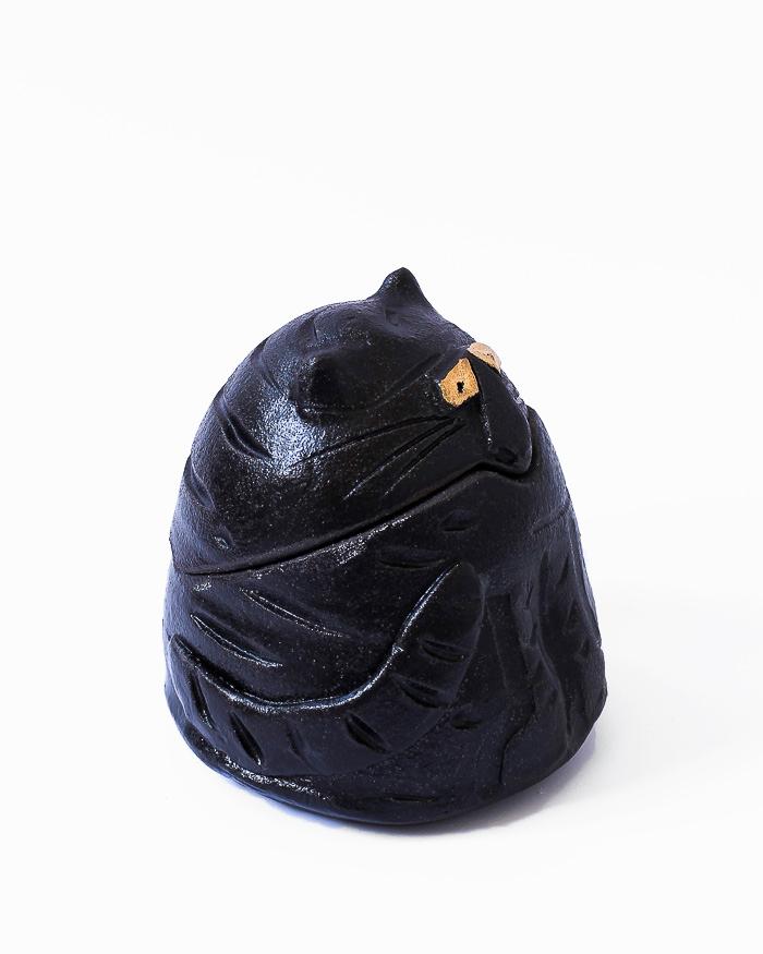 Black Cat Jar Right View
