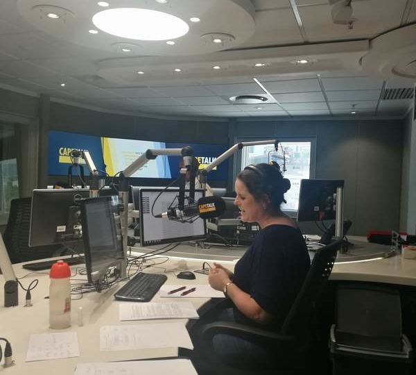 Interview with Pippa Hudson – Cape Talk Radio on 1 December 2017